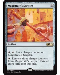 Core Set 2019: Magistrate's Scepter