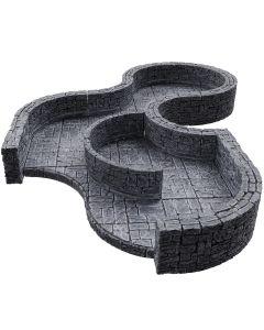 WarLock Tiles: Dungeon Tiles III - Curves Expansion