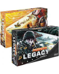 andemic Legacy Season 2 (Yellow)