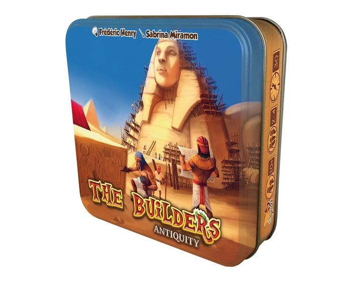 Bombyx The Builders Antiquity Board Game NEW