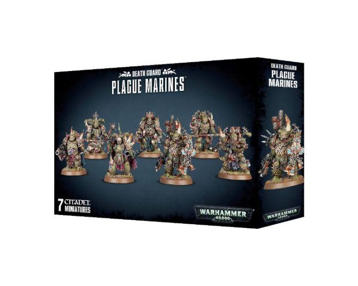 Easy To Build Death Guard Plague Marines Warhammer 40.000 Chaos Nurgle Marines